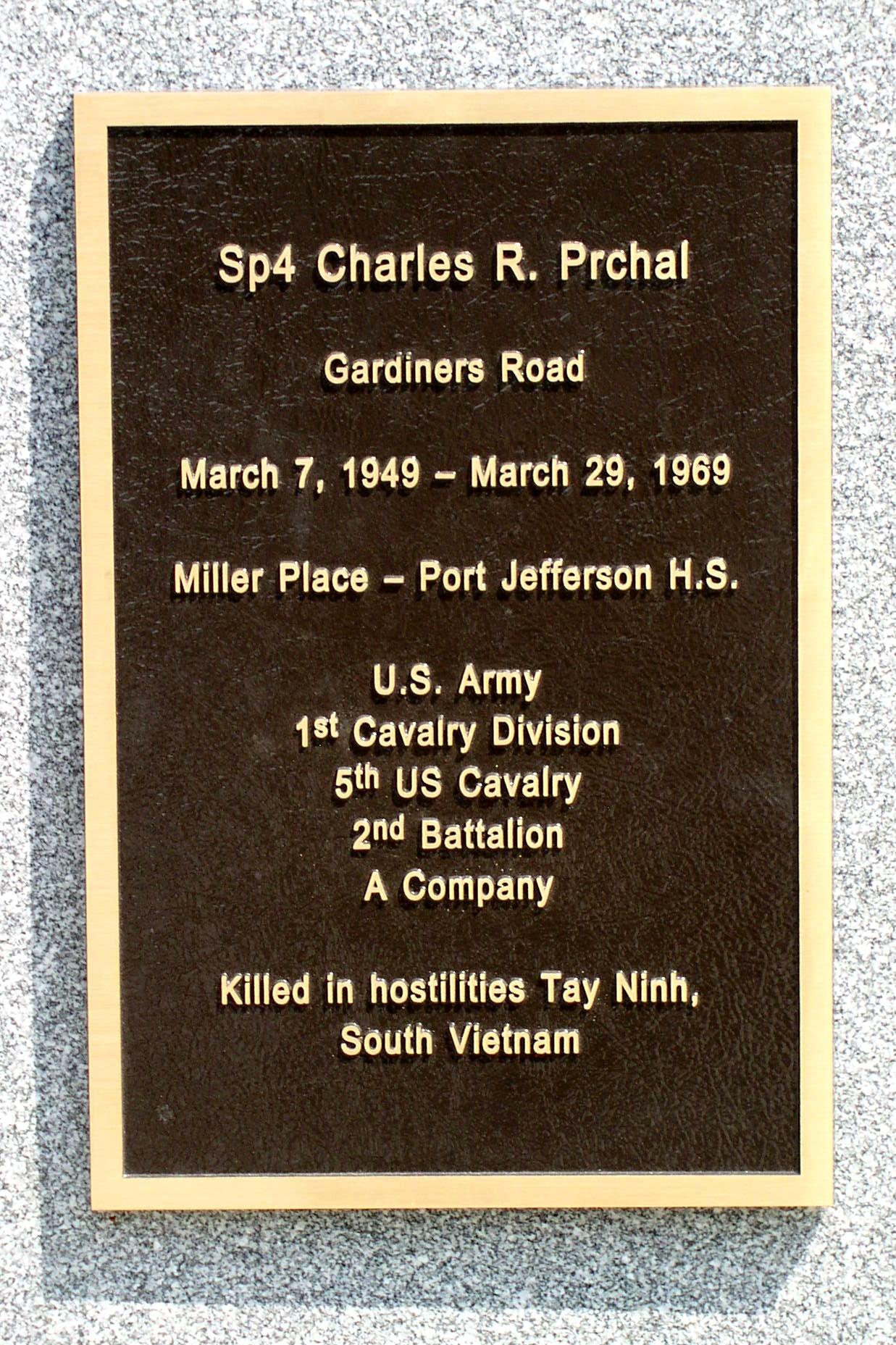 Charles Robert Charley Prchal