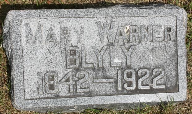 Mary <i>Warner</i> Blyly