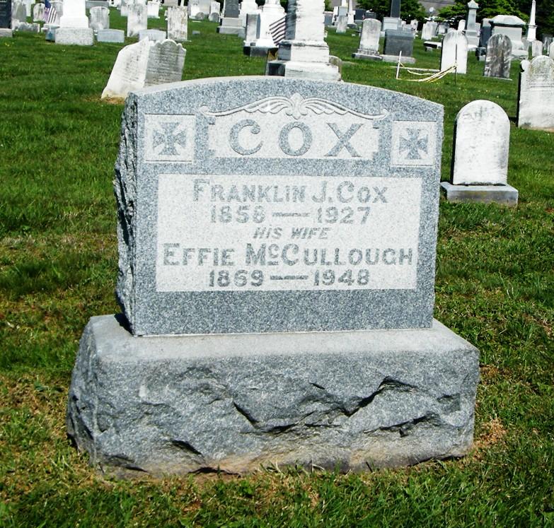 Effie <i>McCullough</i> Cox