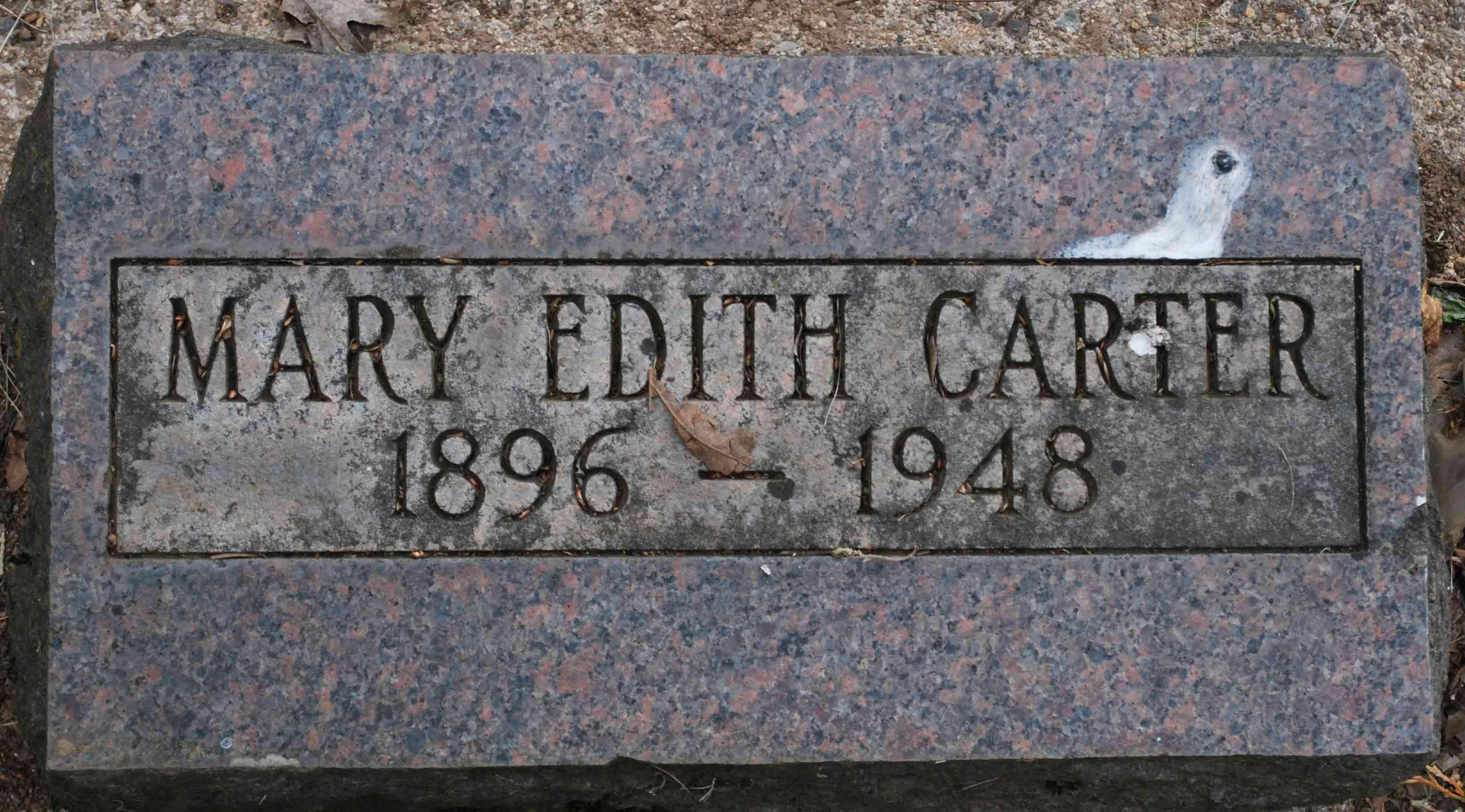 Mary Edith <i>Sherman</i> Carter