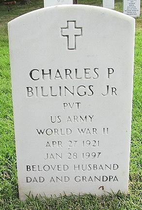 Sgt Charles P. Charlie Billings, Jr