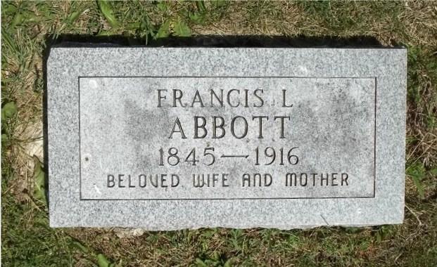 Frances Lucinda <i>Whiteaker</i> Abbott