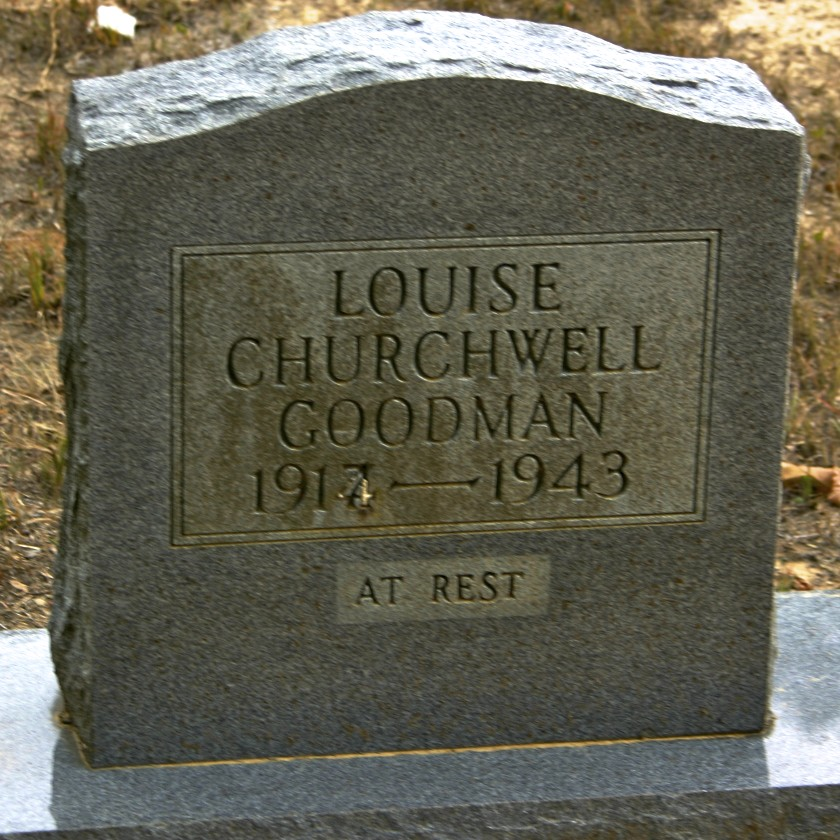 Mary Louise <i>Churchwell</i> Goodman