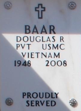 PVT Douglas Robert Baar