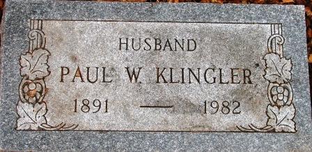 Paul W Klingler