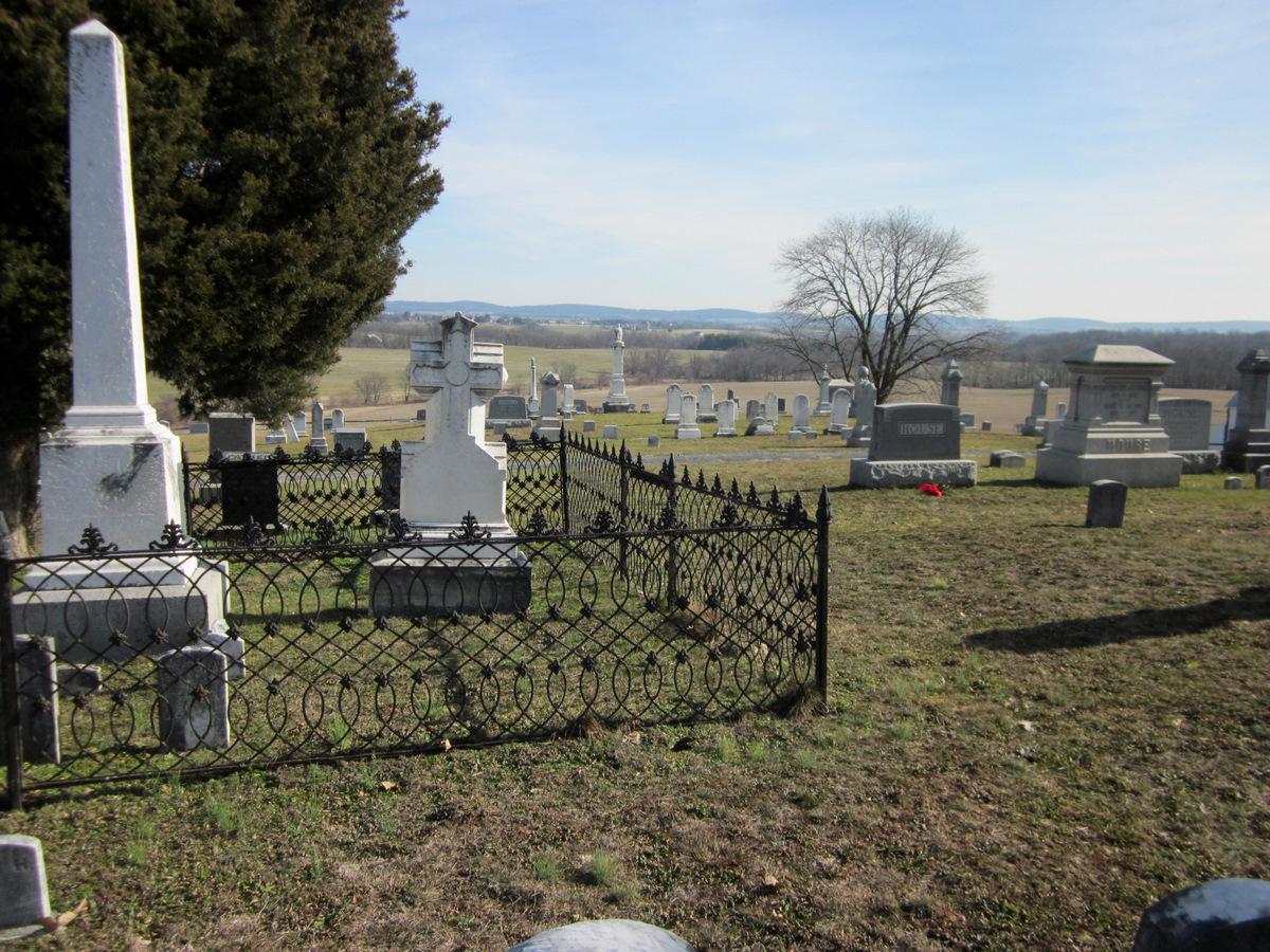View original Burkittsville Union Cemetery in Burkittsville