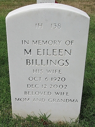 M Eileen Billings
