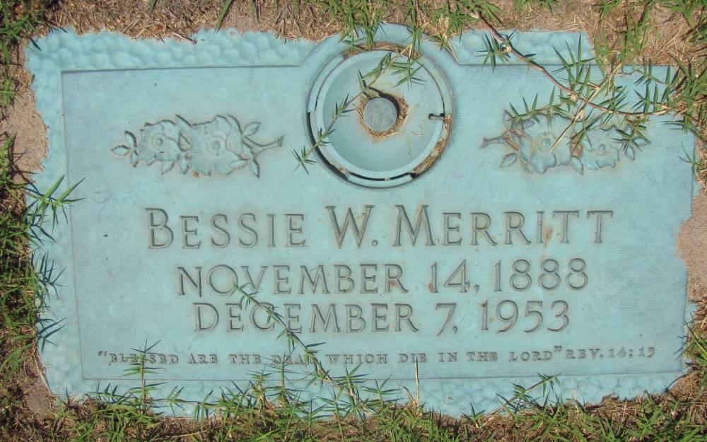 Bessie W. Merritt