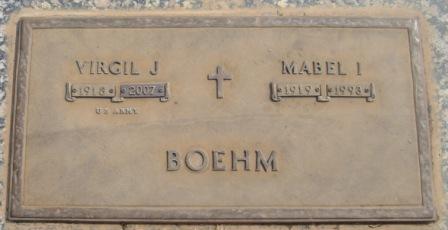 Mabel Irene <i>Griffin</i> Boehm