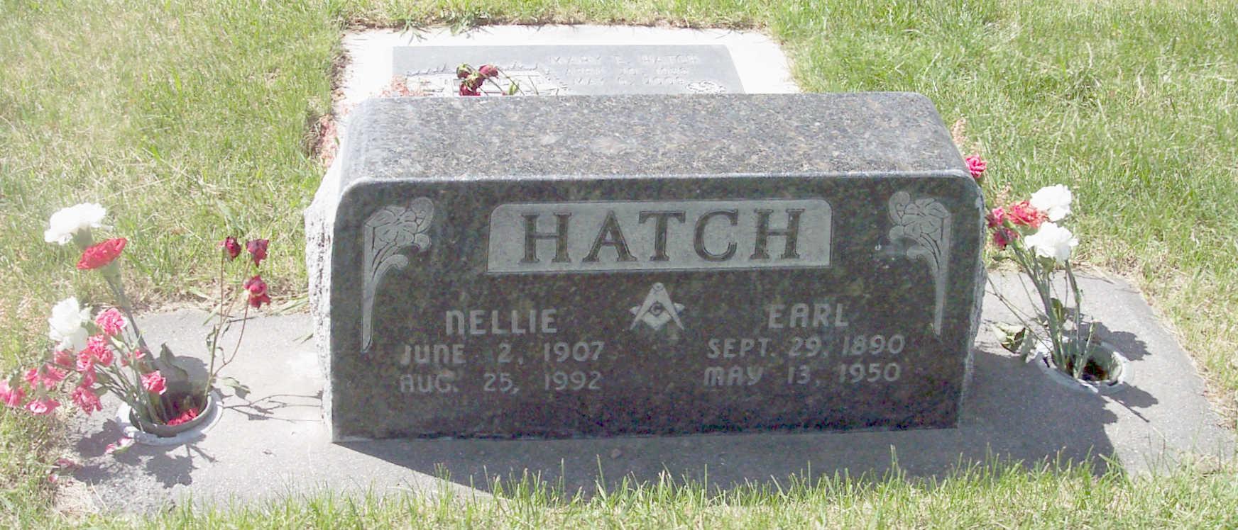 Nellie Elizabeth <i>Iden</i> Hatch