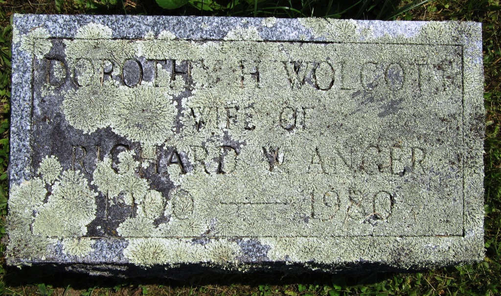 Dorothy Harriet <i>Wolcott</i> Anger
