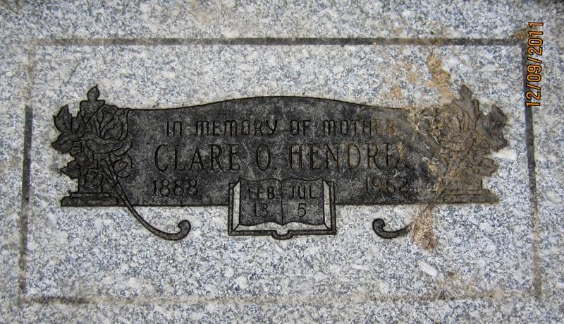 Clare O Hendrix