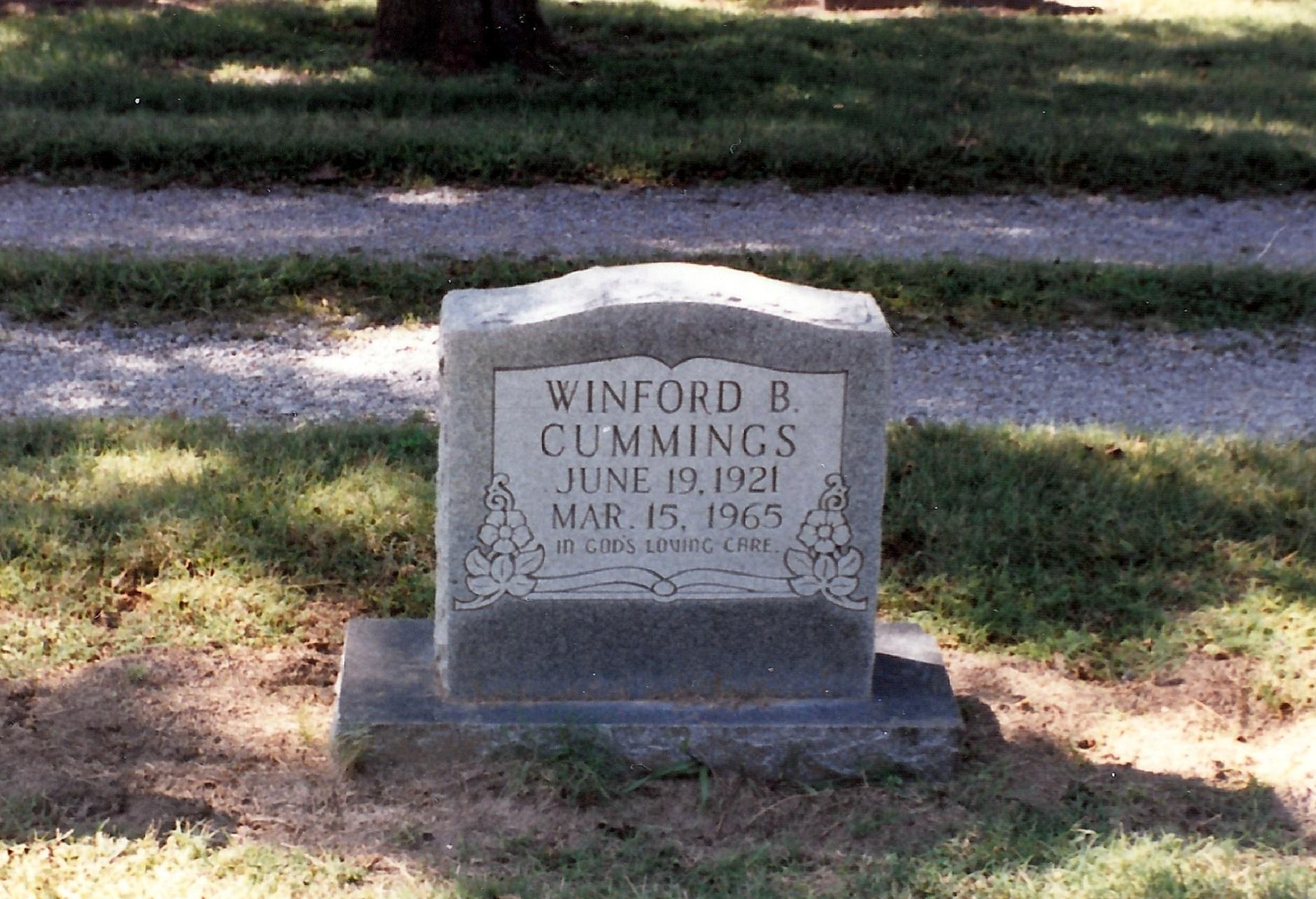 Winford B. Cummings