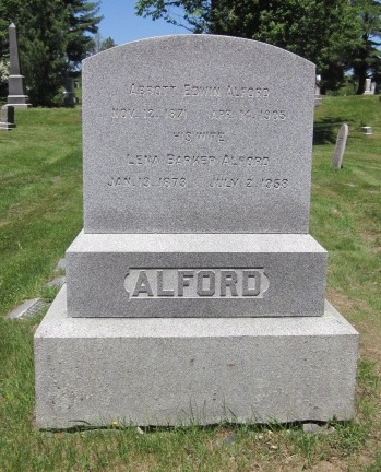 Lena <i>Barker</i> Alford