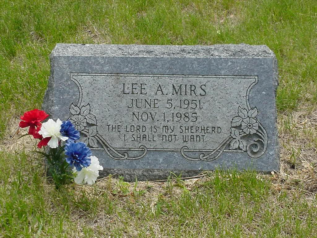 Lee A Mirs 1951 1985