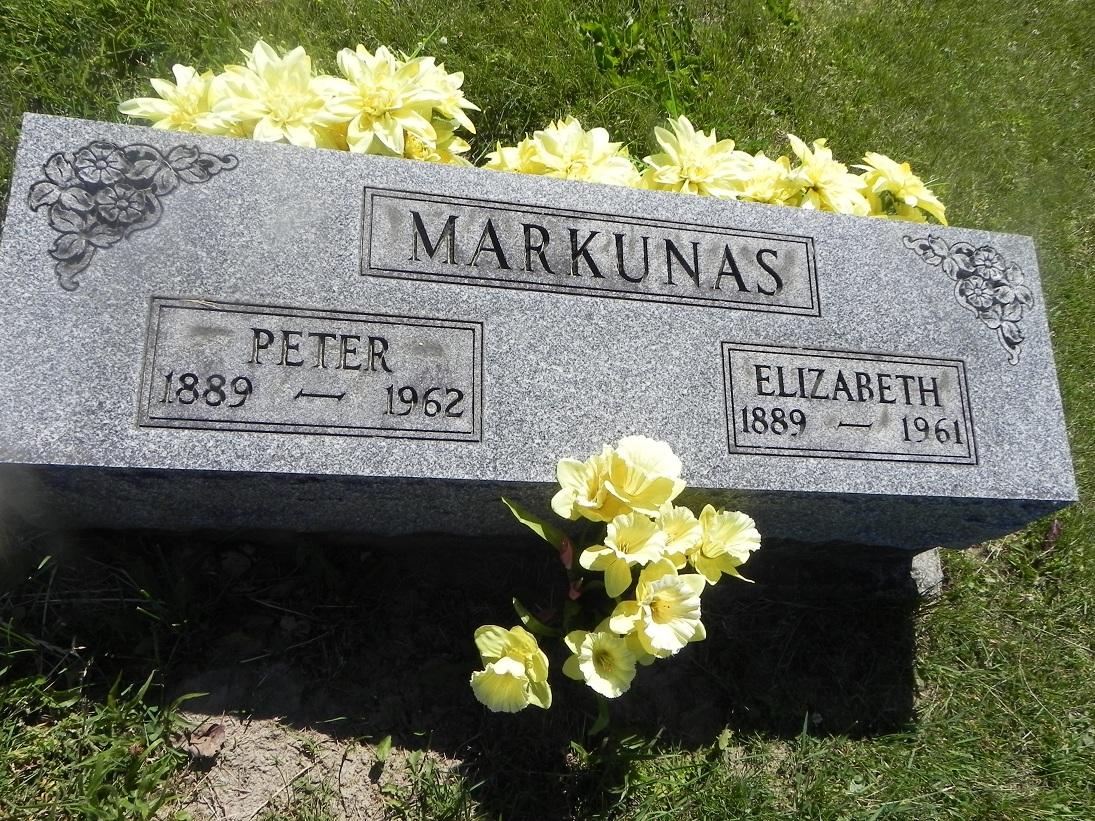 Elizabeth <i>Yesinkenas</i> Markunas