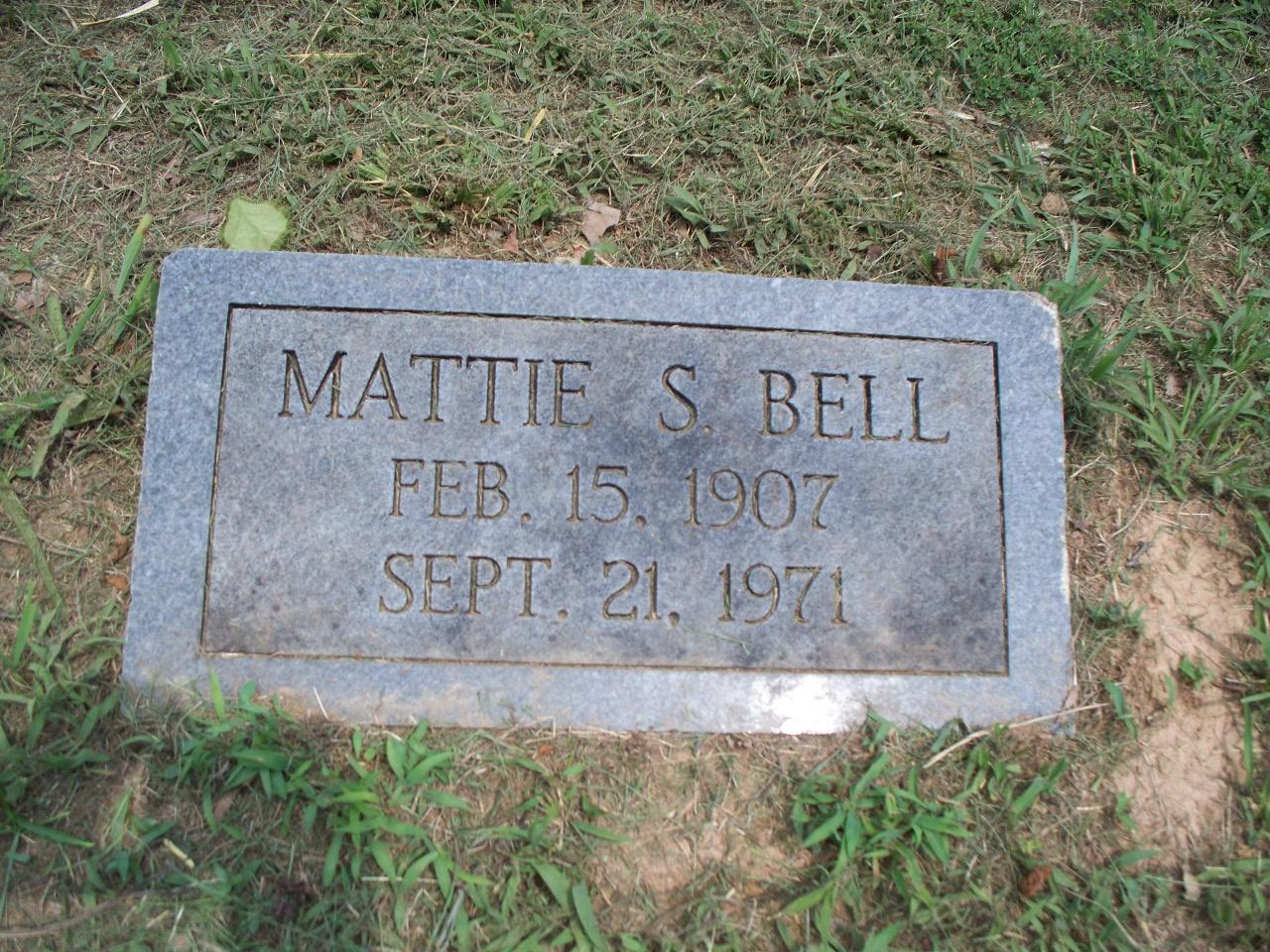 Mattie S Bell
