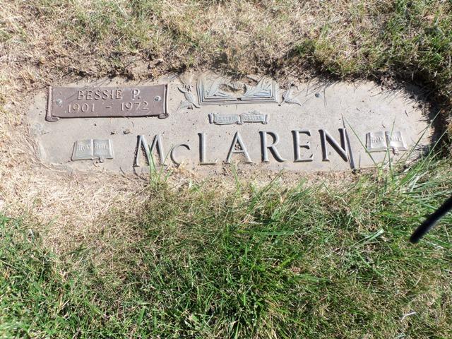 Bessie Pearl <i>Mcvey</i> Mclaren
