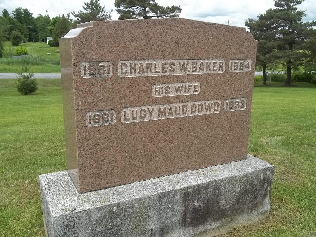 Lucy Maud <i>Dowd</i> Baker