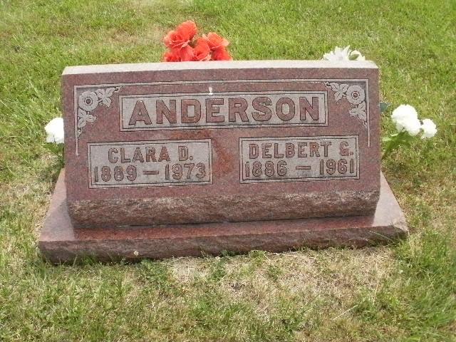 Delbert G Anderson