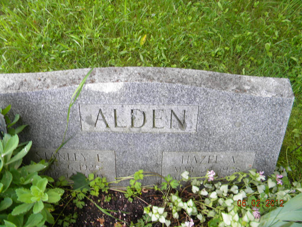 Hazel A Alden