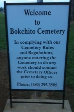 Bokchito Cemetery