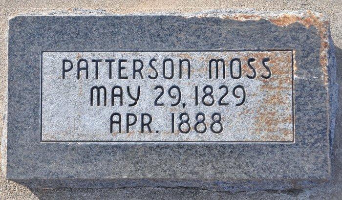 Patterson Moss