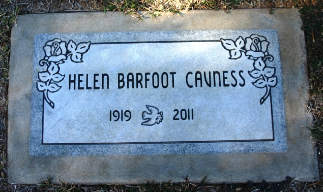 Helen Edith <i>Cavness</i> Barfoot