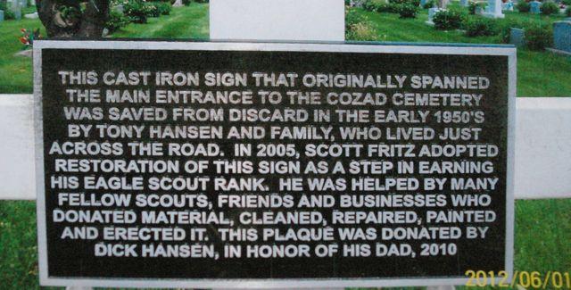 Cozad Cemetery