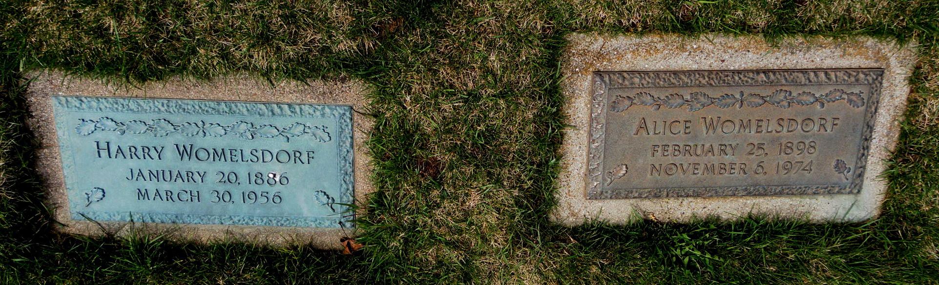 Harry Womelsdorf (1886-1956) - Find A Grave Memorial