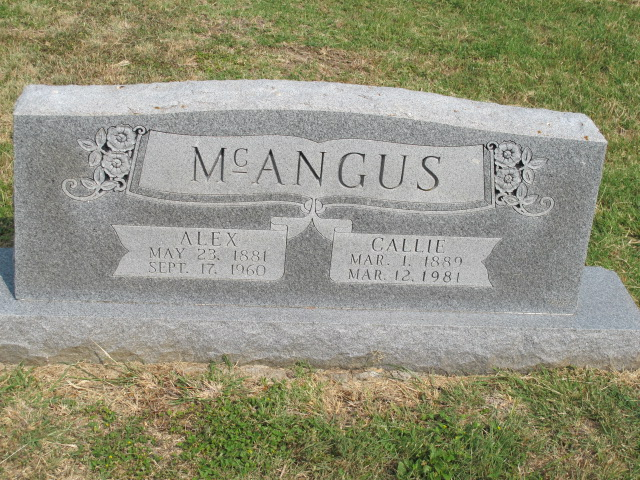 Alexander McAngus