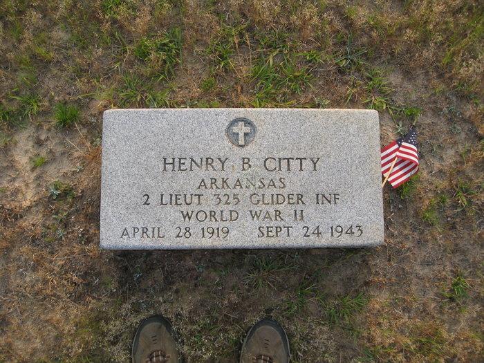 Lieut Henry Bishop Citty