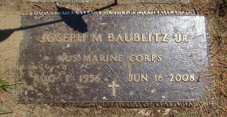 Joseph M Baublitz, Jr