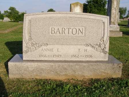 Annie Elizabeth <i>Jones</i> Barton