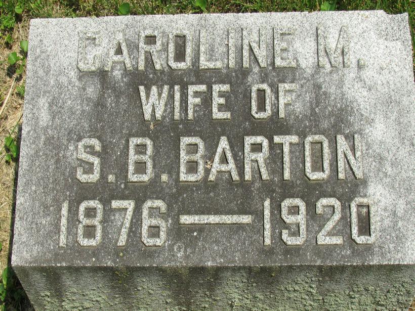Caroline Margaret <i>Bergner</i> Barton
