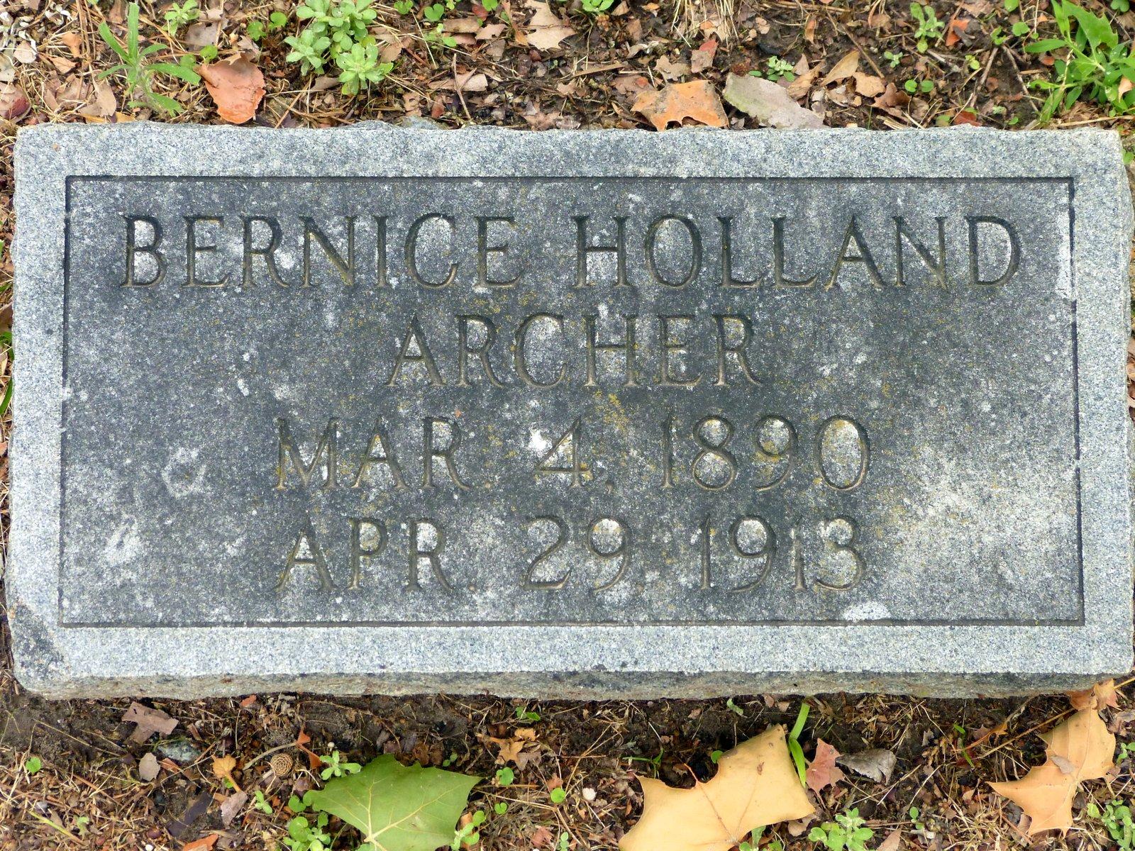 Bernice Holland Archer