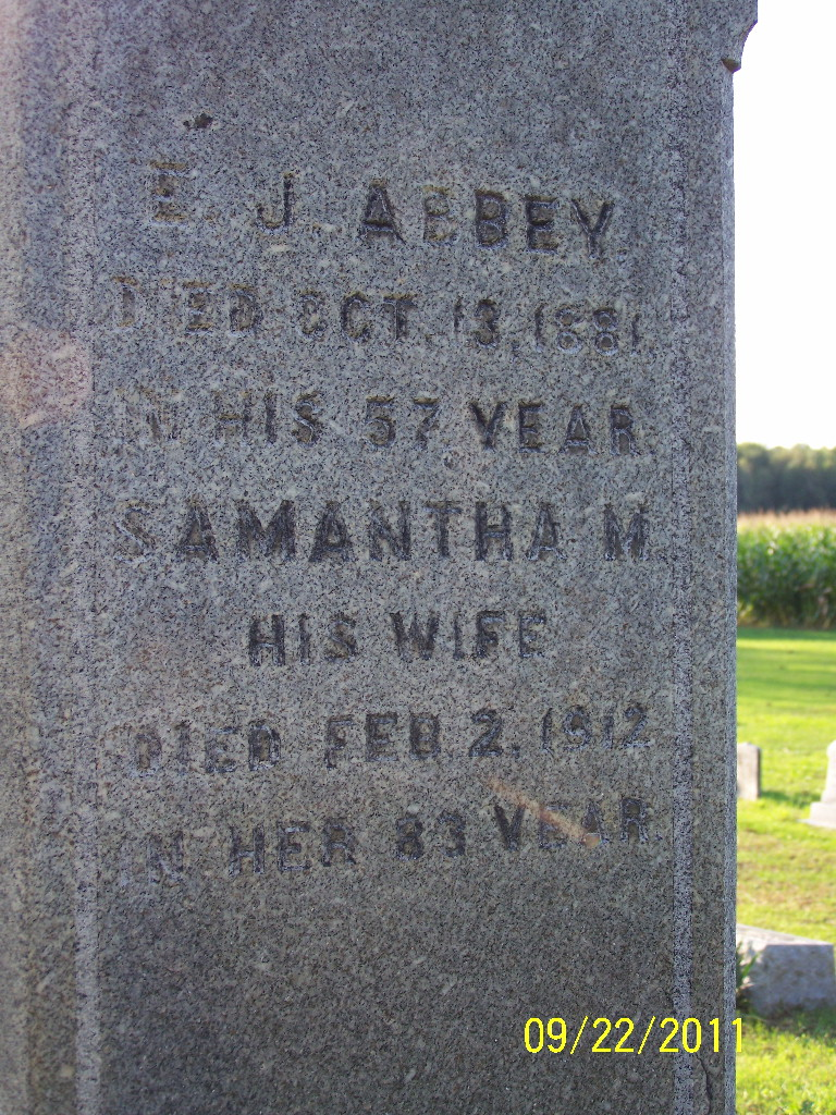 Samantha M. <i>Buck</i> Abbey