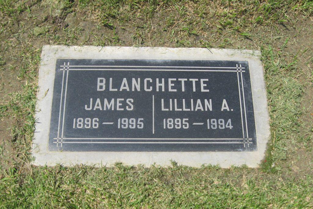 Lillian Ardella <i>Wilkerson</i> Blanchette