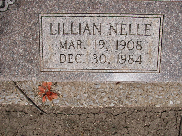 Lillian Nelle <i>Turner</i> Flippen