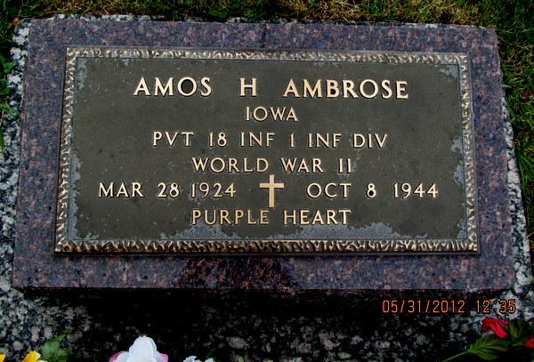 Amos Herman Ambrose