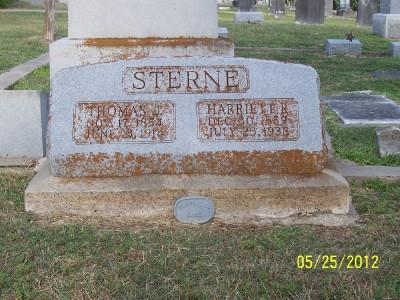 Harriett Rebecca <i>Cocke</i> Sterne