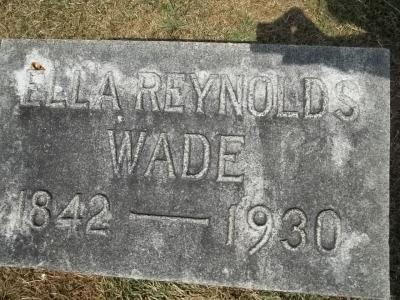 Ella <i>Reynolds</i> Wade