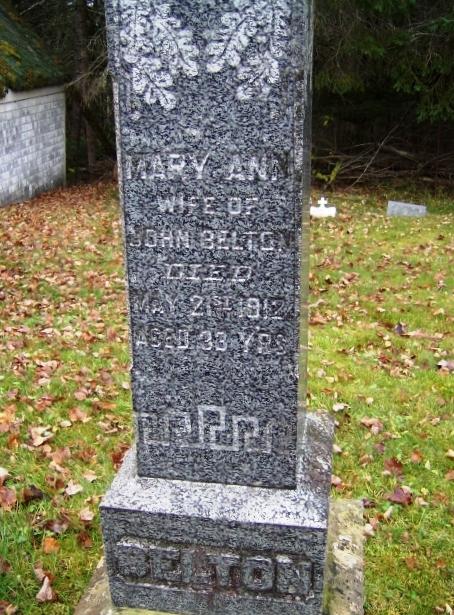 Mary Ann Belton