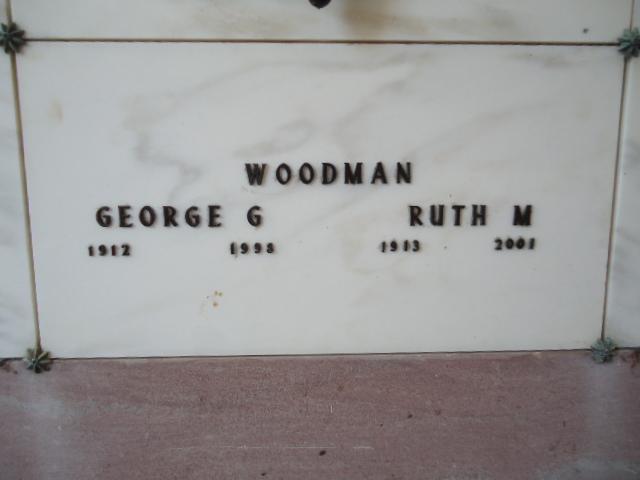 Ruth Elizabeth <i>Moses</i> Woodman