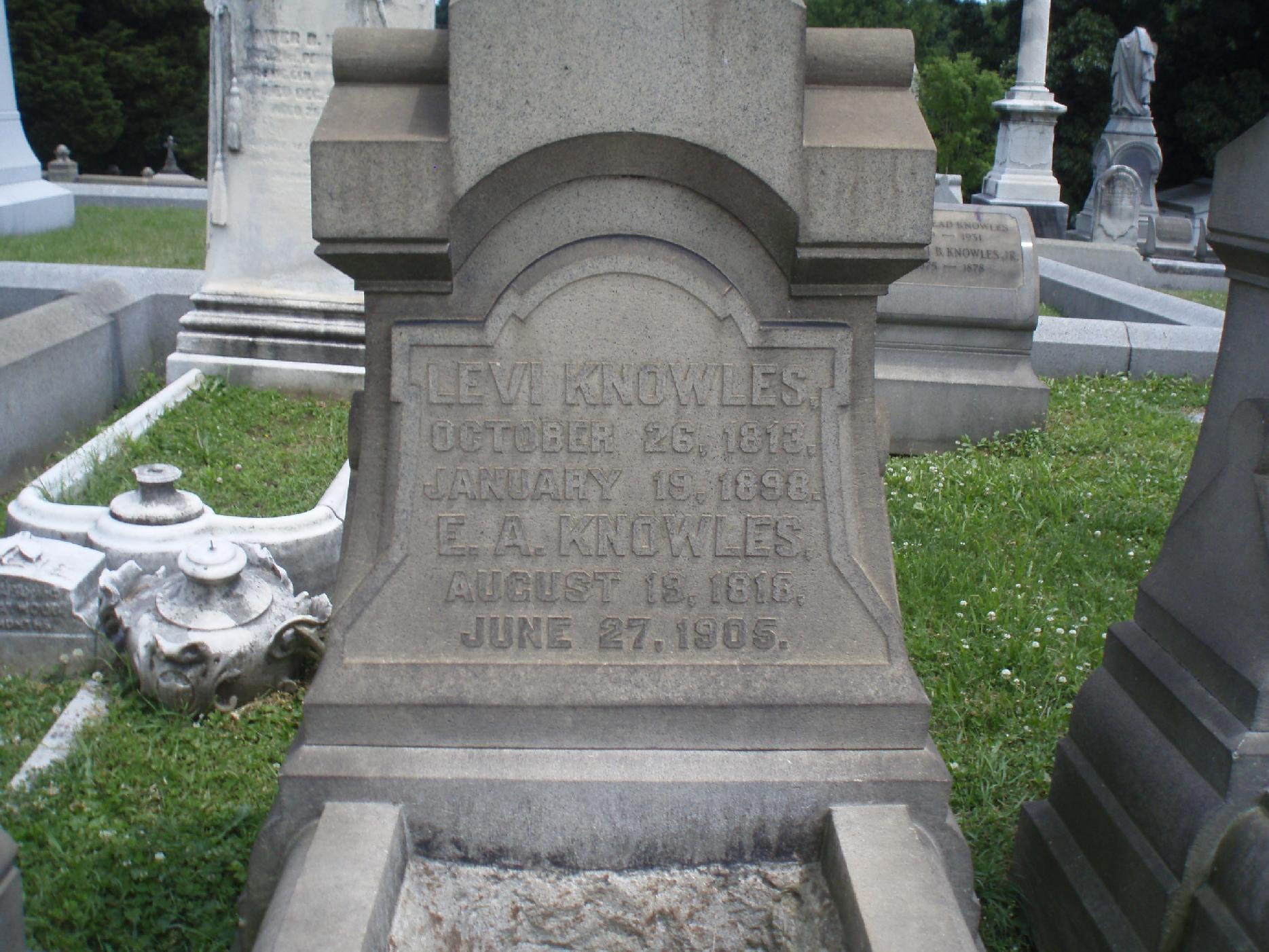 Elizabeth Adeline Lizzie <i>Croskey</i> Knowles