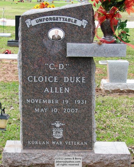 Cloice Duke C D Allen