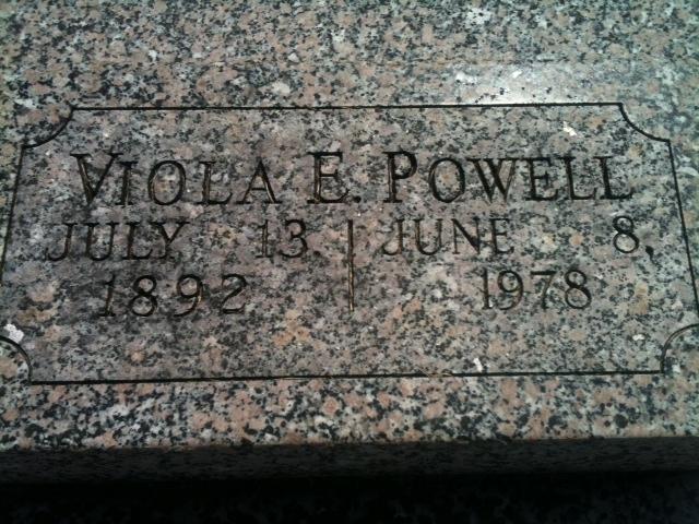 Viola E. <i>Hall</i> Powell