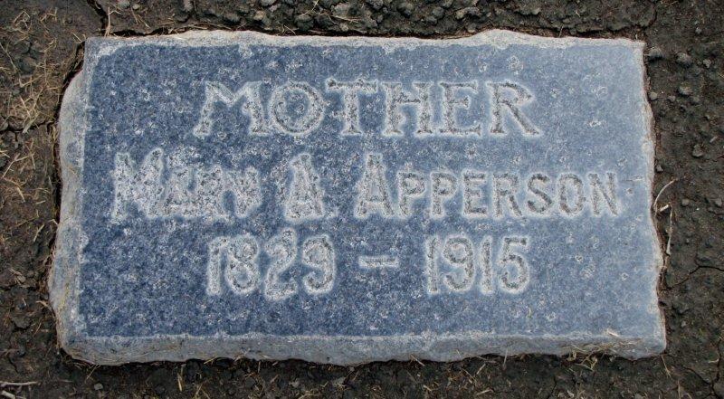 Mary Ann <i>McCreary</i> Apperson