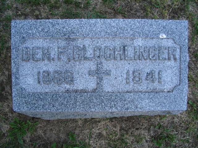 Benjamin F Blocklinger