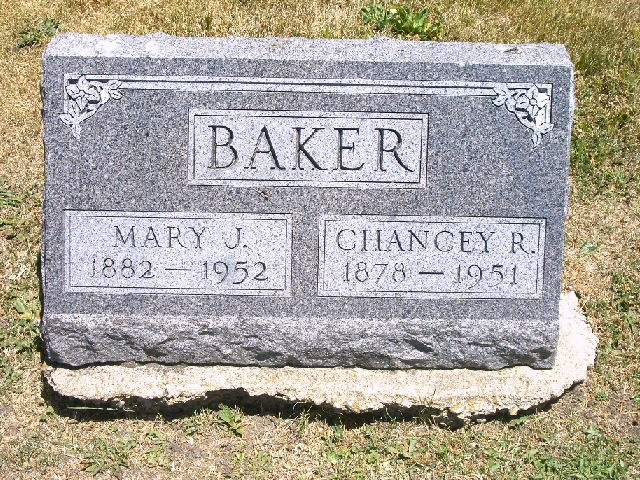 Chancey Ronald Baker